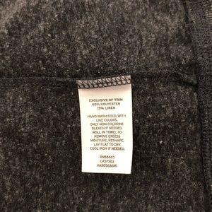Halogen Tops - Halogen Long Sleeve Knit Top with Zipper Detail